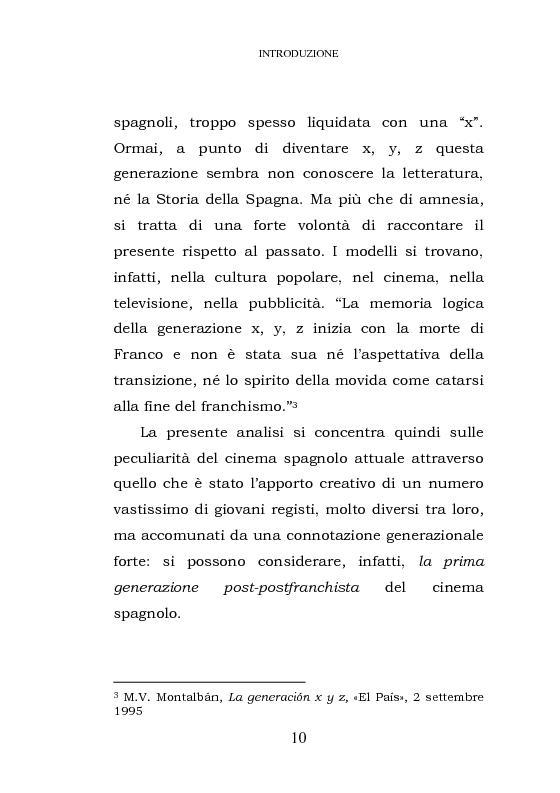 Anteprima della tesi: La prima generazione post-postfranchista del cinema spagnolo, Pagina 4