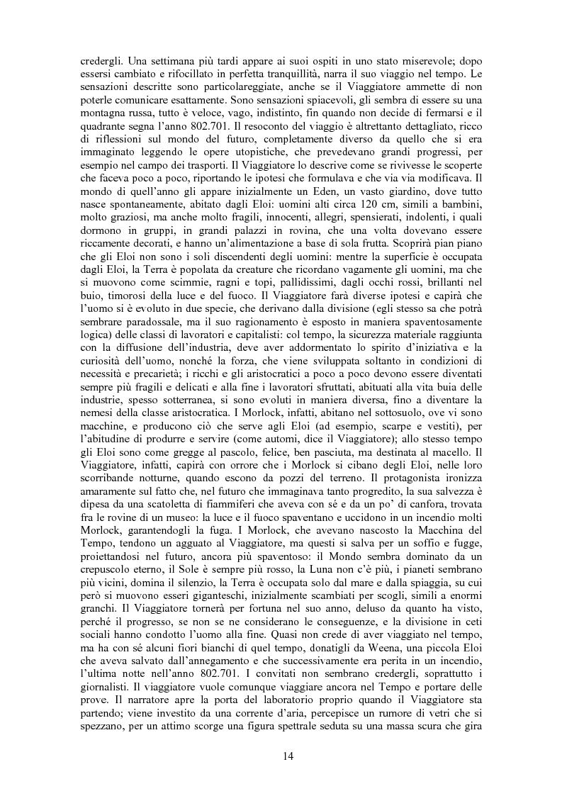 """Anteprima della tesi: La letteratura fantascientifica in Portogallo: proposta di traduzione di """"O Caçador de Brinquedos e Outras Histórias"""" di J. Barreiros, Pagina 14"""