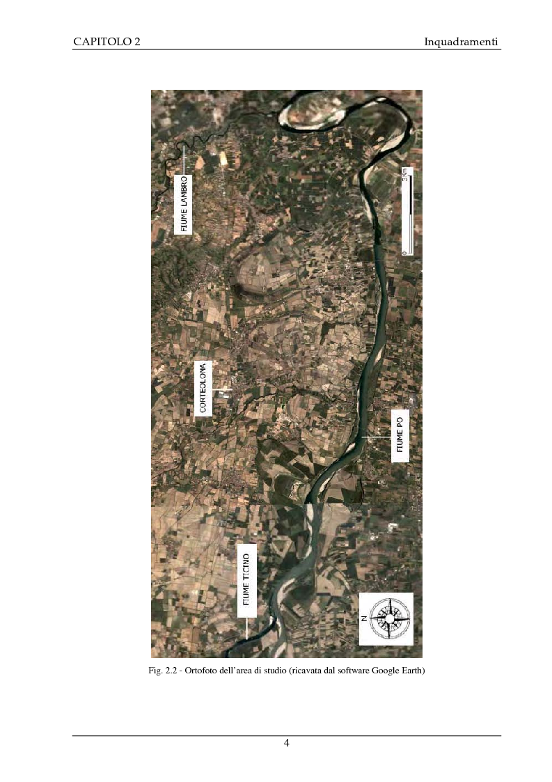 Anteprima della tesi: Studio idrogeologico del settore meridionale di Pianura Pavese compreso tra i fiumi Ticino e Lambro con l'applicazione dei modelli numerici ModAEM e MODFLOW, Pagina 4