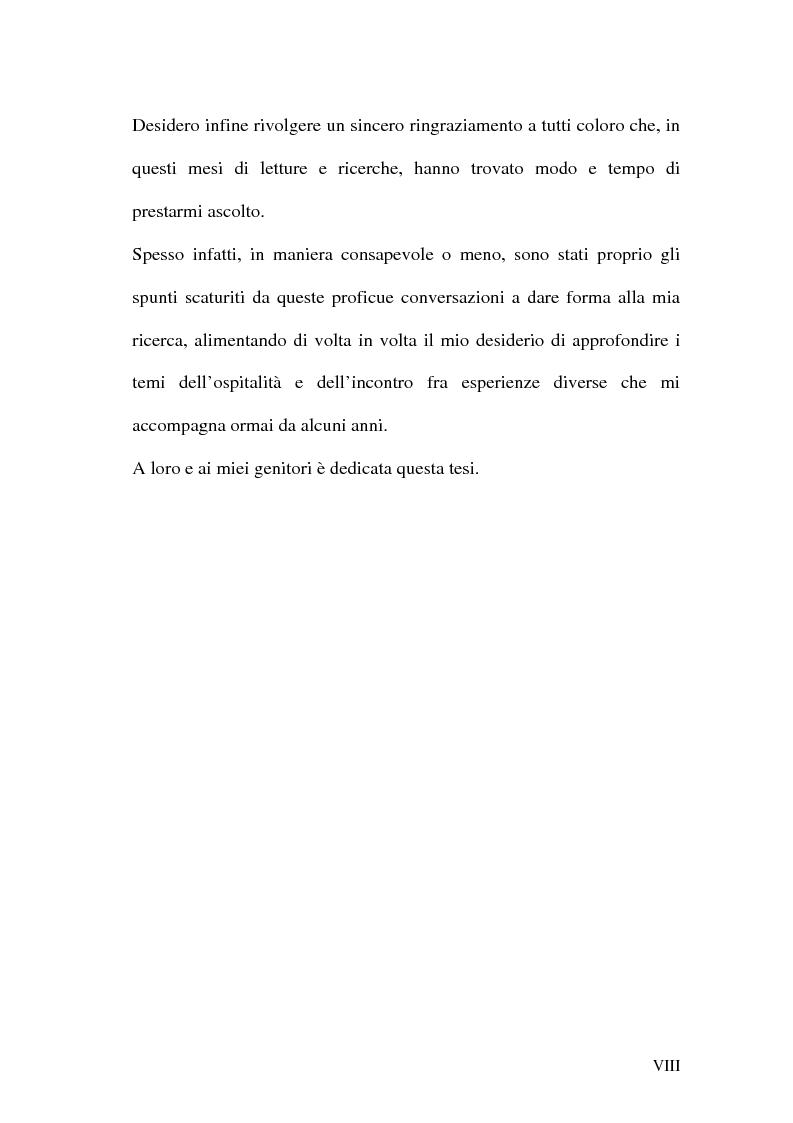 Anteprima della tesi: Identità e cittadinanza: il diritto di ospitalità in una prospettiva storico-politica, Pagina 4