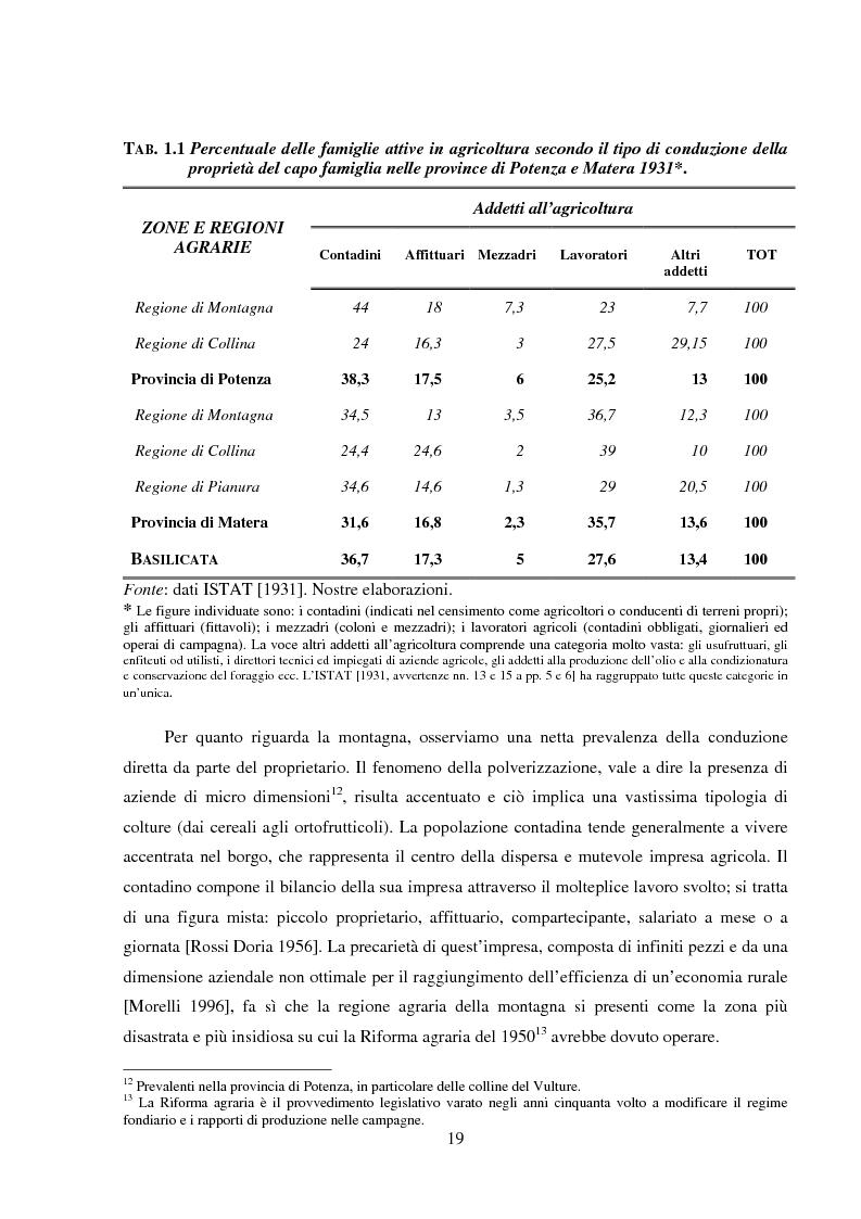 Anteprima della tesi: Agro-industria e sviluppo locale, Pagina 14
