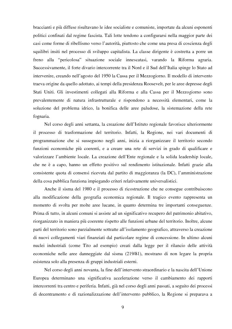 Anteprima della tesi: Agro-industria e sviluppo locale, Pagina 4