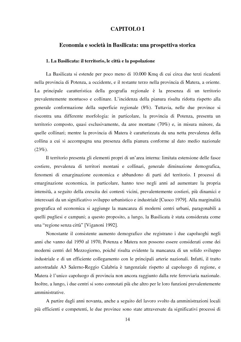 Anteprima della tesi: Agro-industria e sviluppo locale, Pagina 9