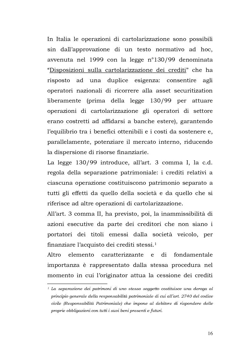 Anteprima della tesi: I Covered Bond in Europa e l'esperienza italiana, Pagina 8