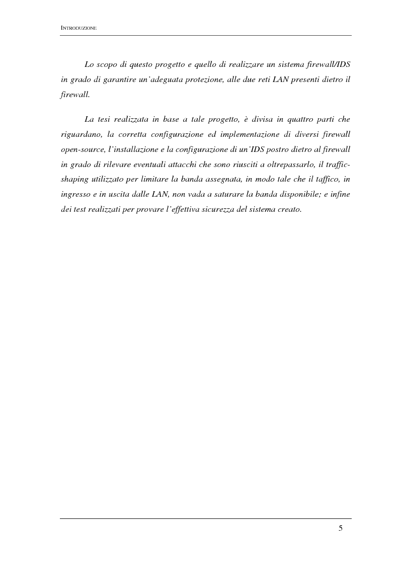 Anteprima della tesi: Elementi di progettazione di un internet firewall, Pagina 2