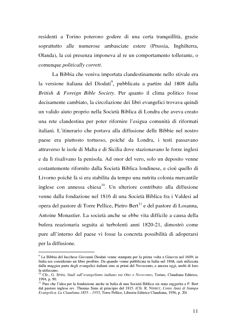 Anteprima della tesi: La casa editrice Claudiana di Torino. Nuove ricerche, Pagina 9