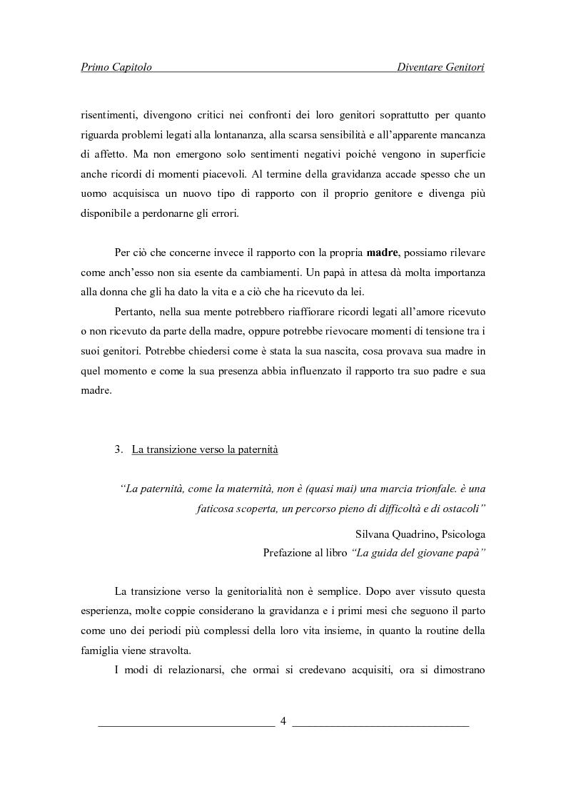 Anteprima della tesi: Il padre e la vita nascente: un percorso attraverso l'esperienza della gravidanza e del parto, Pagina 6