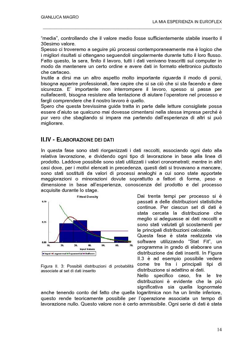 Anteprima della tesi: Modello integrato per la pianificazione e simulazione della produzione in un azienda manifatturiera meccanica., Pagina 14