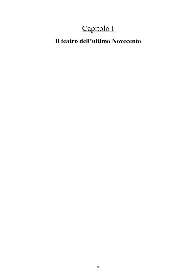 Anteprima della tesi: Un narratore sempre in viaggio tra il passato e il presente. Il teatro di Marco Paolini, Pagina 5