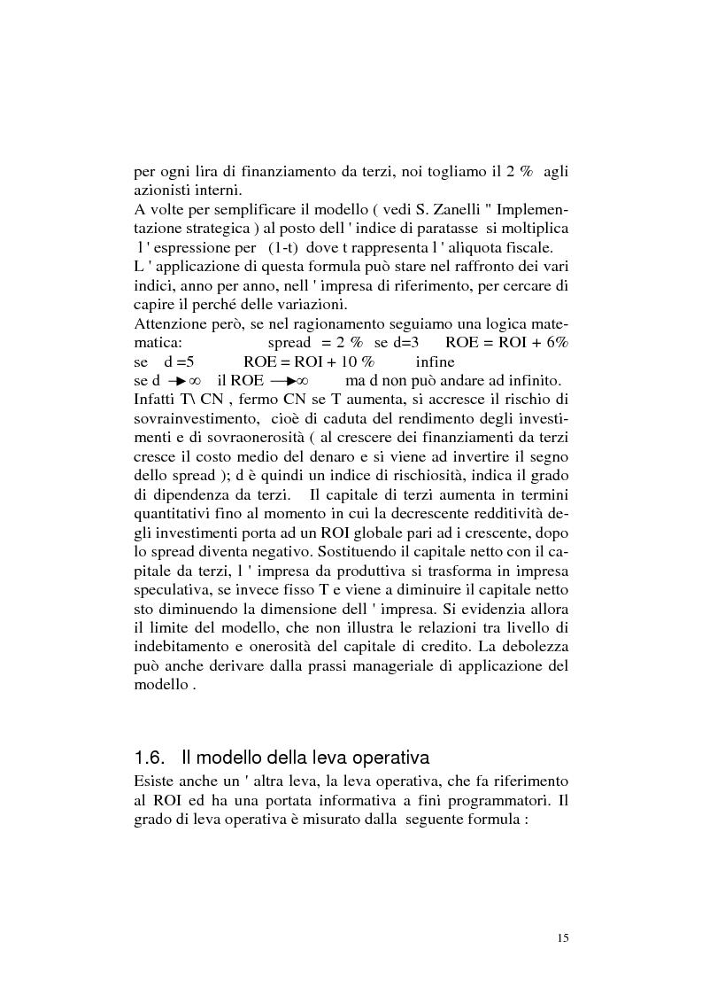 Anteprima della tesi: I modelli implementanti: l'analisi del modello tradizionale, Pagina 14