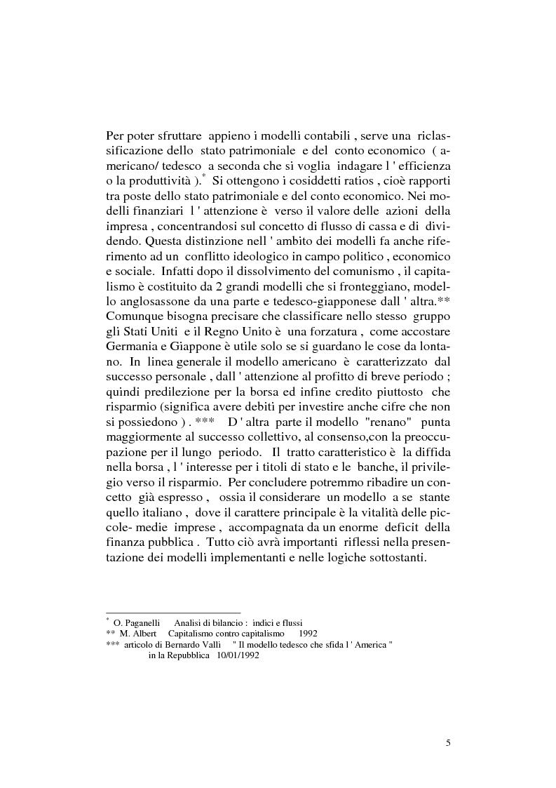 Anteprima della tesi: I modelli implementanti: l'analisi del modello tradizionale, Pagina 4