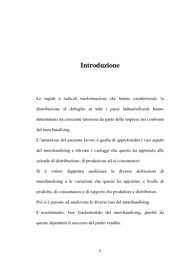 Anteprima della tesi: Tecniche e Metodi del Merchandising: il caso Unieuro, Pagina 1