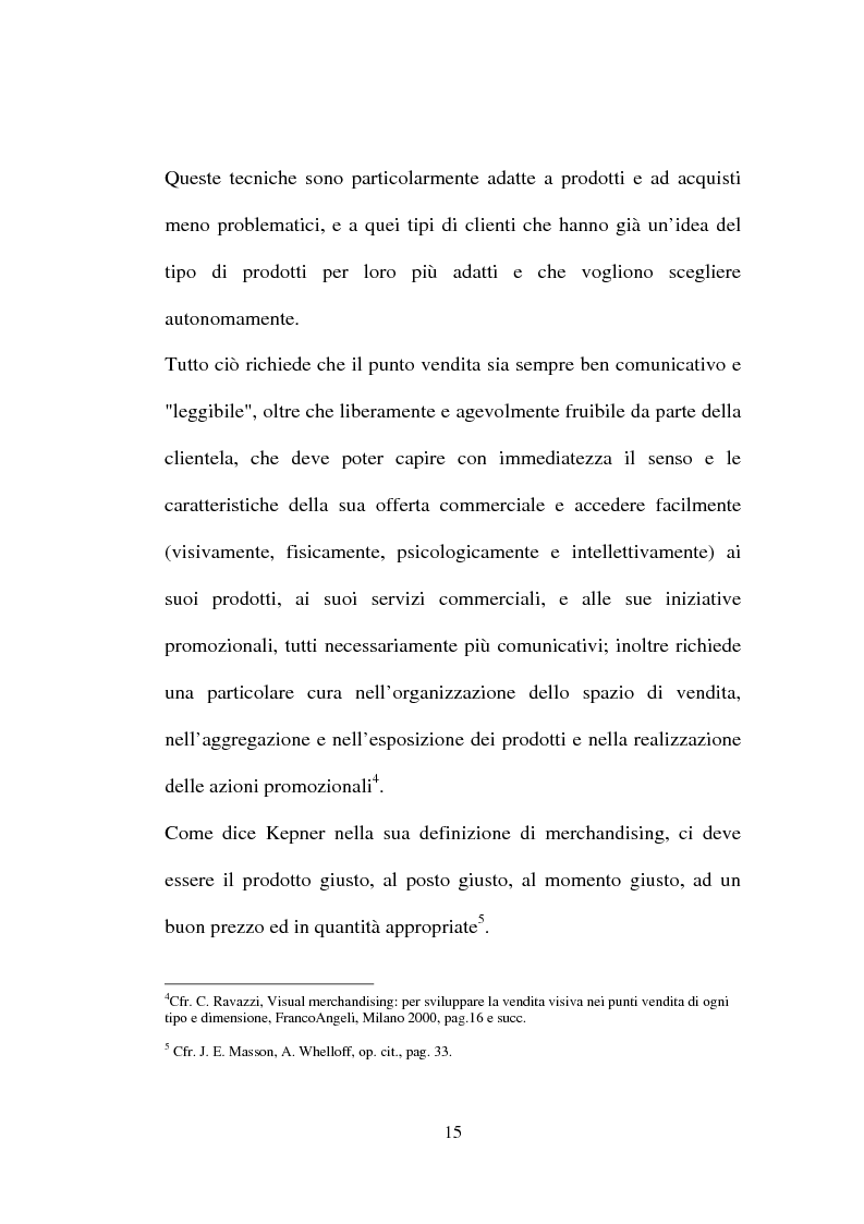 Anteprima della tesi: Tecniche e Metodi del Merchandising: il caso Unieuro, Pagina 10