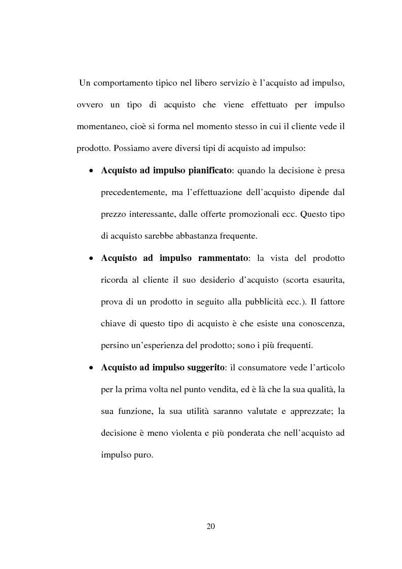 Anteprima della tesi: Tecniche e Metodi del Merchandising: il caso Unieuro, Pagina 15