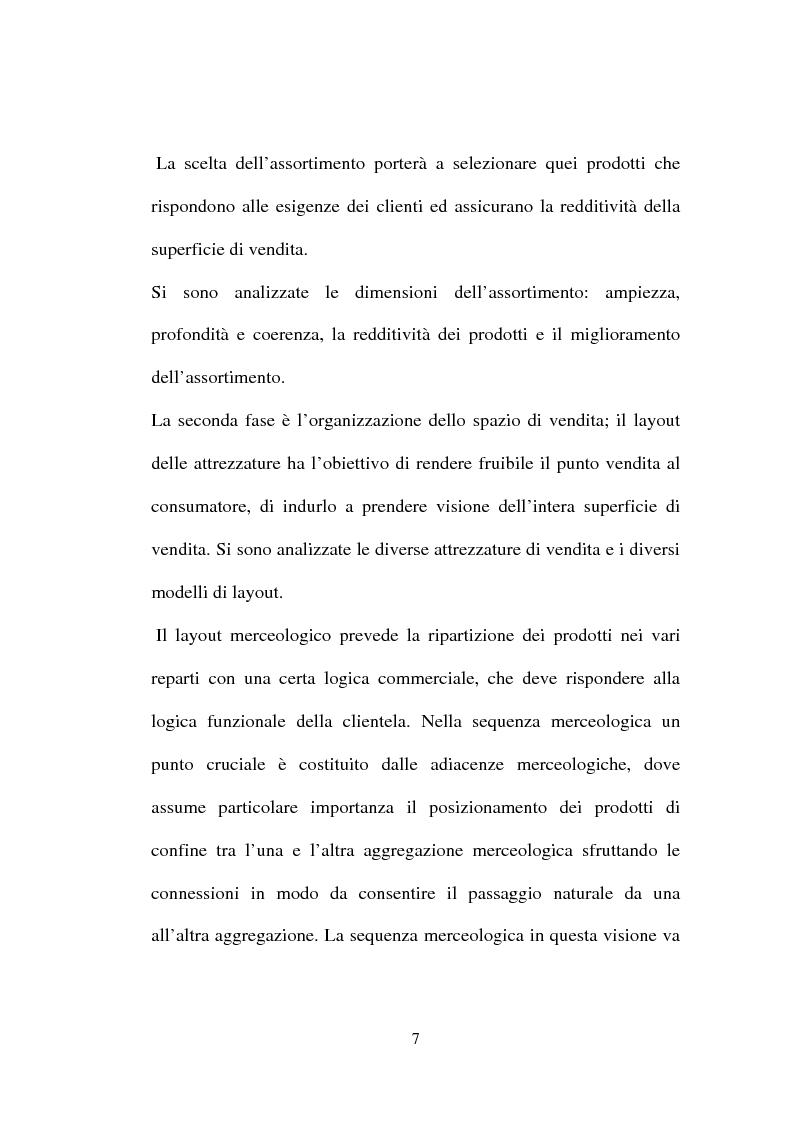 Anteprima della tesi: Tecniche e Metodi del Merchandising: il caso Unieuro, Pagina 2