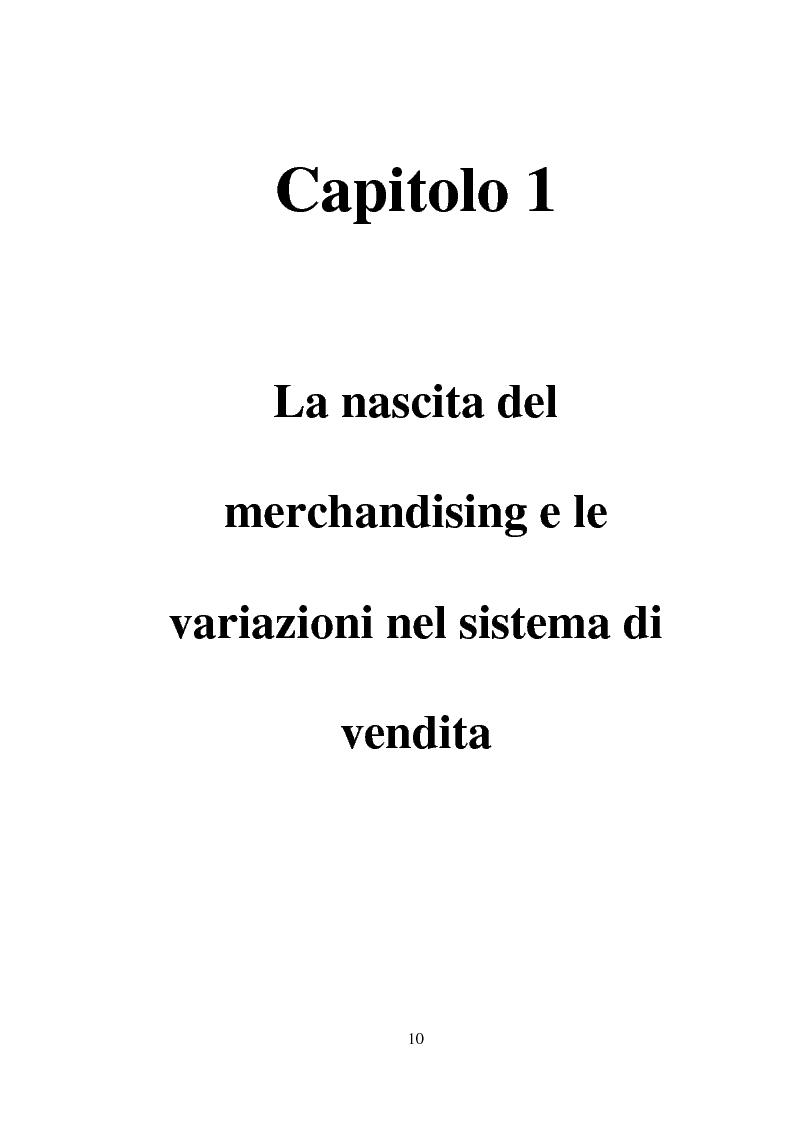 Anteprima della tesi: Tecniche e Metodi del Merchandising: il caso Unieuro, Pagina 5