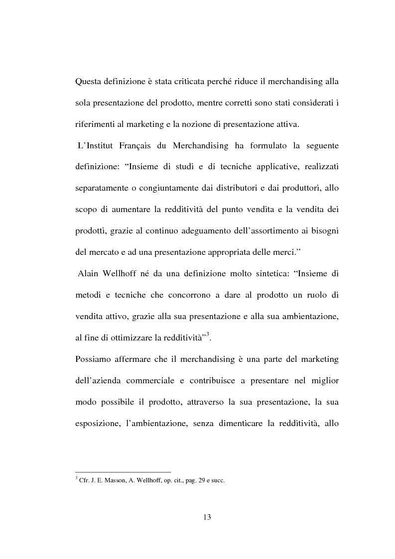Anteprima della tesi: Tecniche e Metodi del Merchandising: il caso Unieuro, Pagina 8