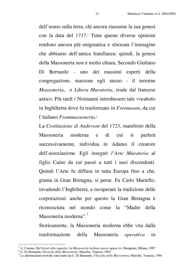 Anteprima della tesi: La comunicazione istituzionale della Massoneria del Grande Oriente d'Italia, Pagina 11