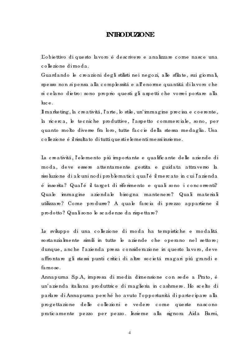 Anteprima della tesi: Annapurna: dal progetto alla collezione, Pagina 1