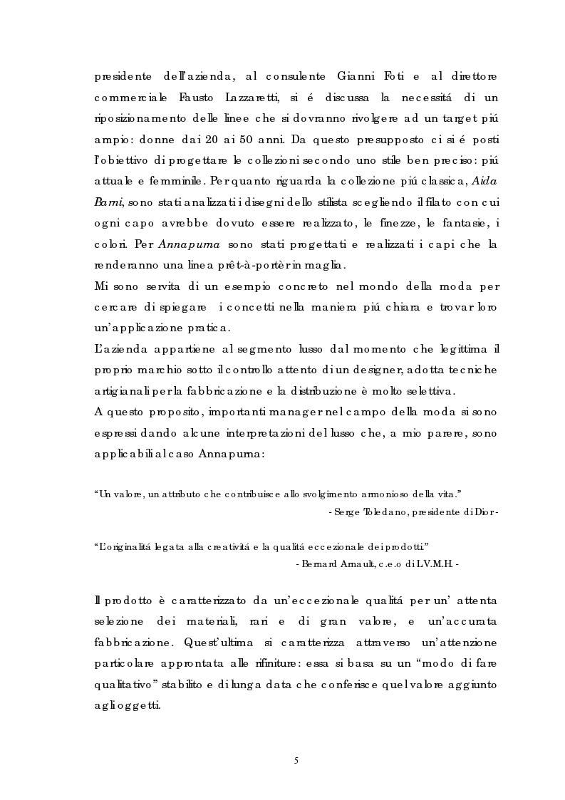 Anteprima della tesi: Annapurna: dal progetto alla collezione, Pagina 2
