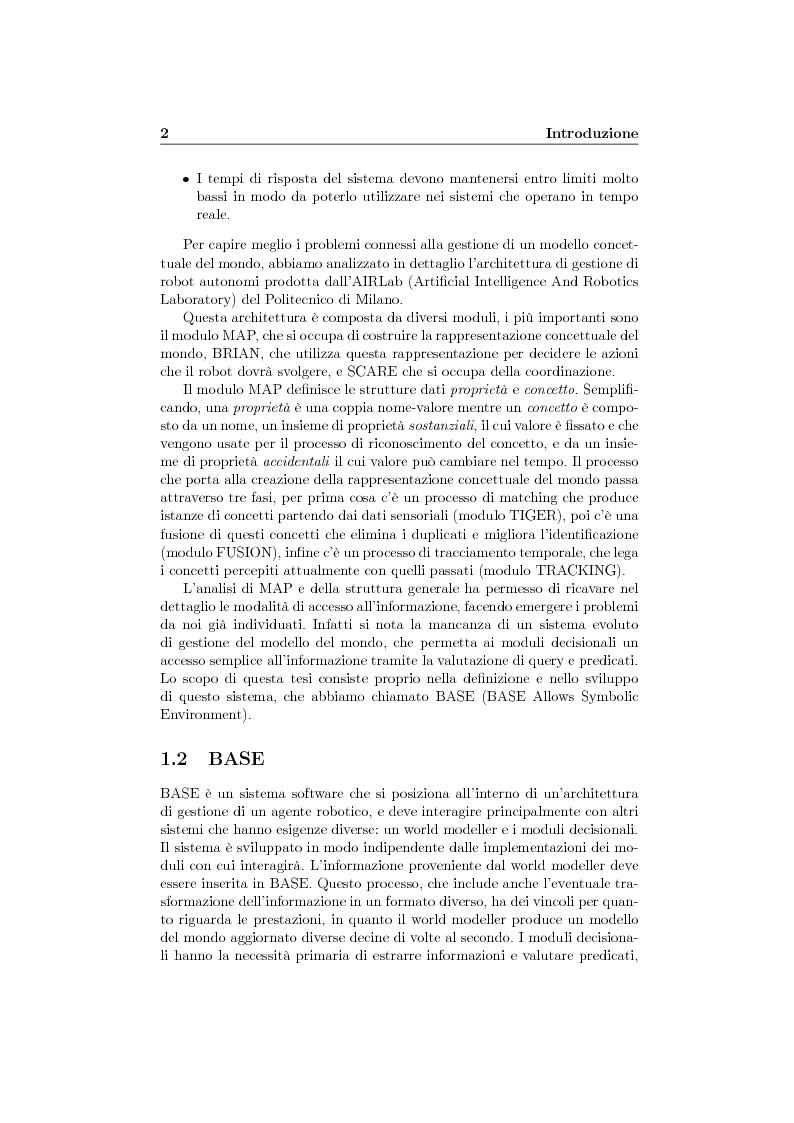 Anteprima della tesi: Gestione dell'informazione per una rappresentazione concettuale del mondo, Pagina 2