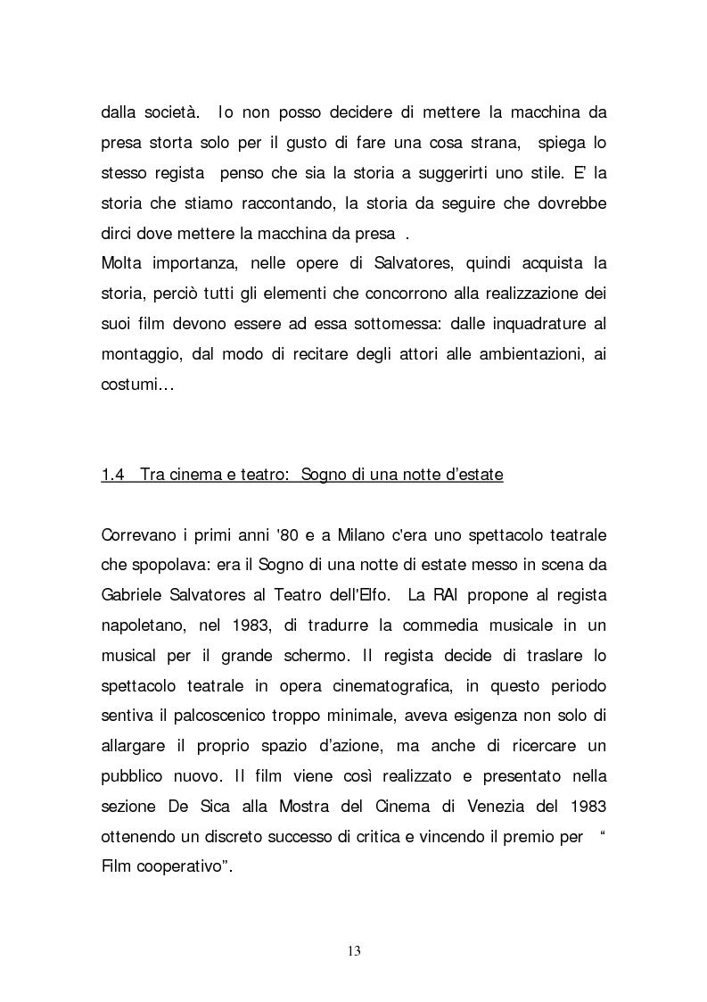 Anteprima della tesi: Il cinema di Gabriele Salvatores - Io non ho paura: un confronto tra opera letteraria e opera cinematografica, Pagina 7