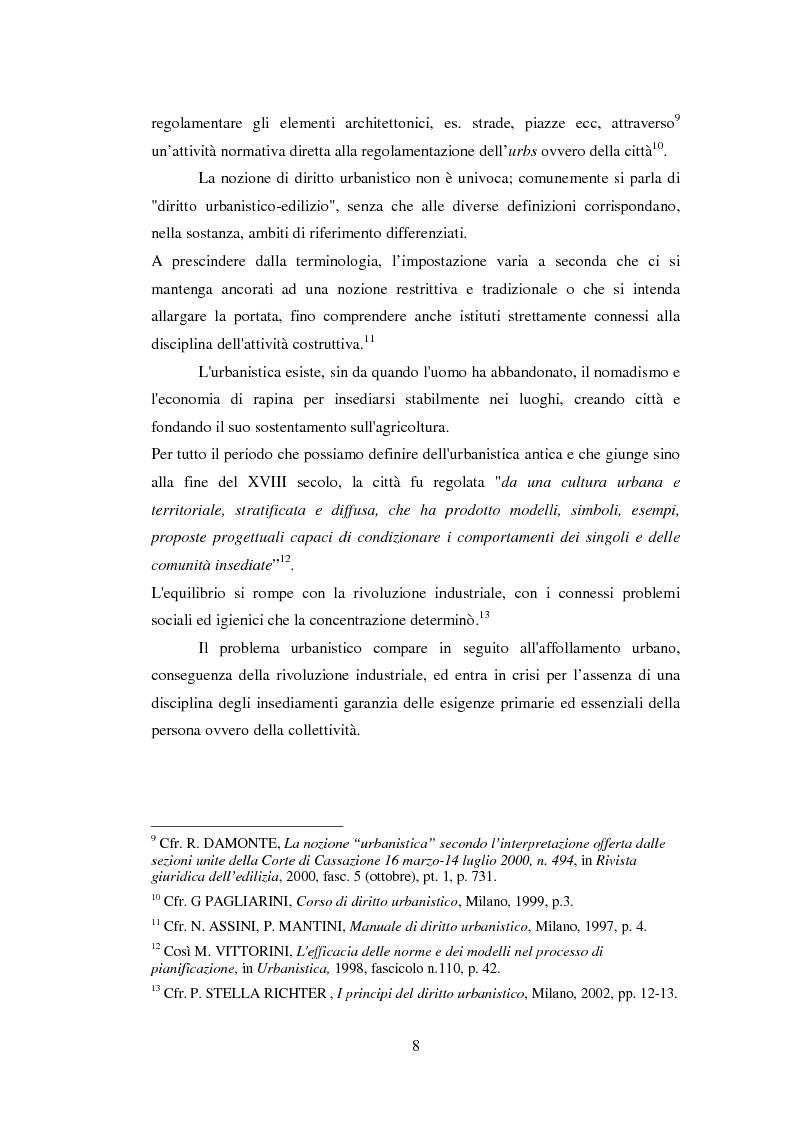 Anteprima della tesi: Gli strumenti dell'urbanistica contrattata, Pagina 6