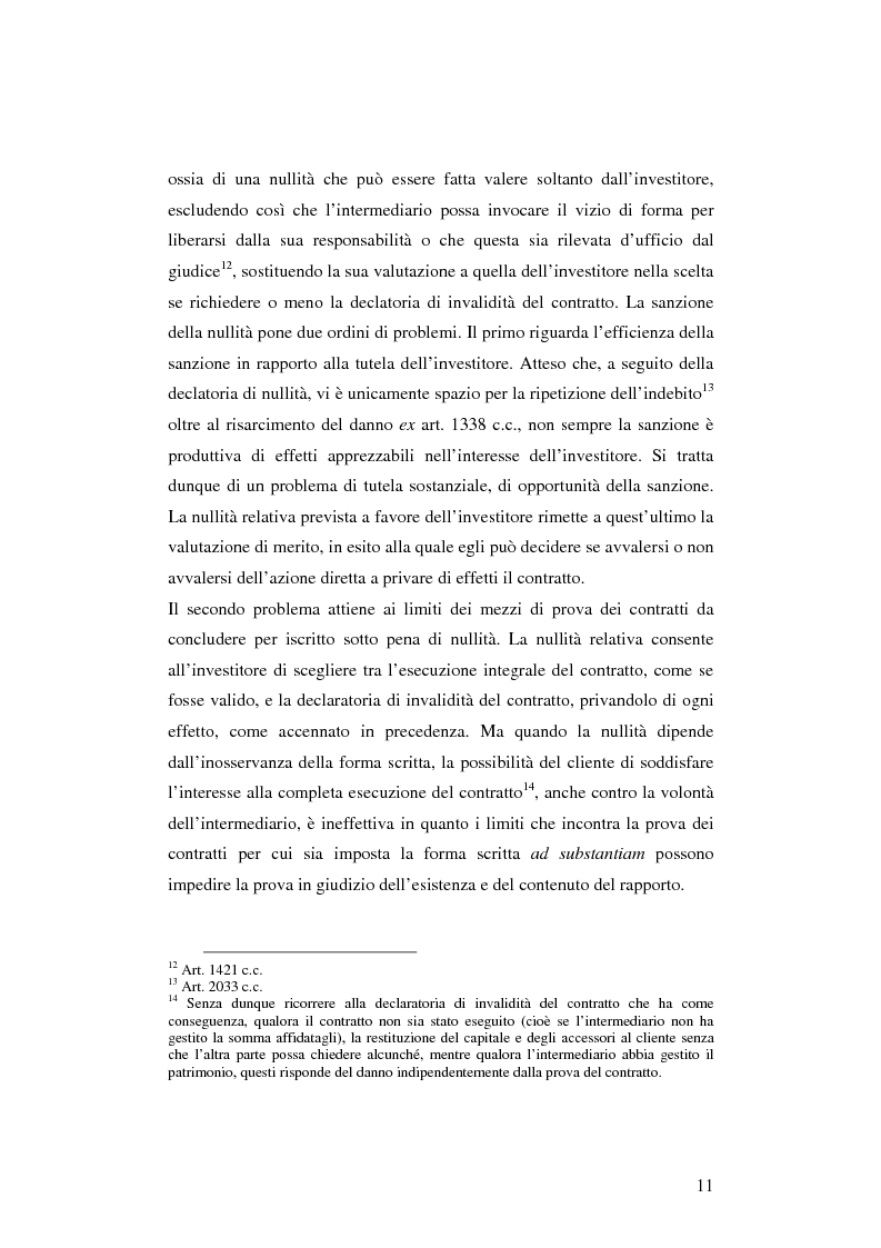 Anteprima della tesi: La tutela dell'investitore nei servizi di gestione del risparmio: l'esperienza della bolla speculativa di fine millennio, Pagina 8