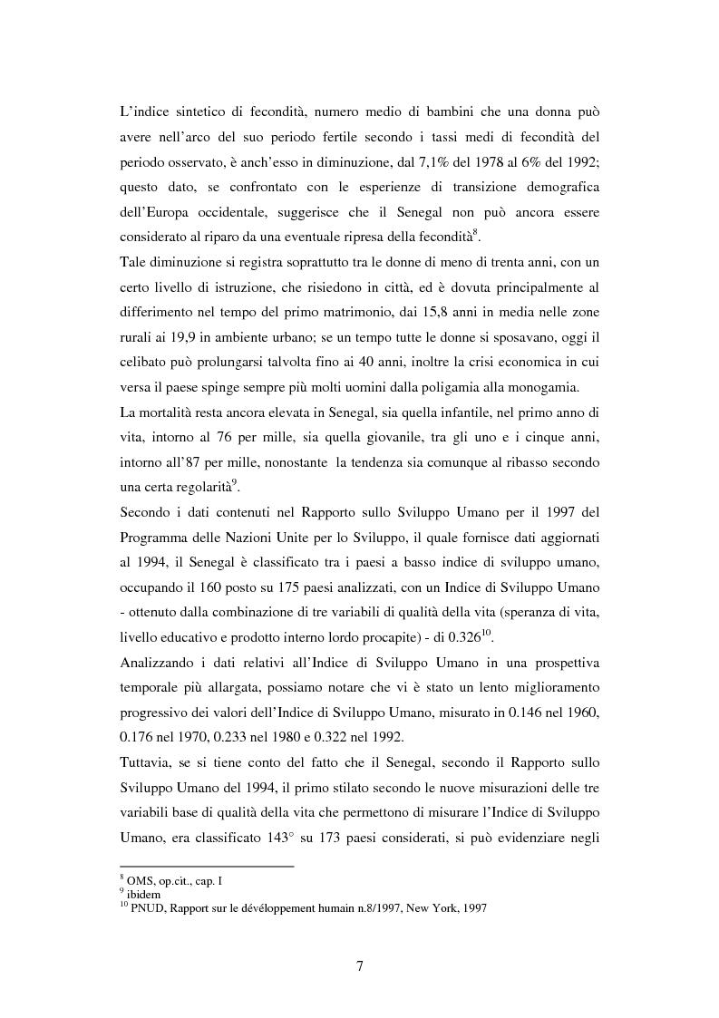 Anteprima della tesi: Senegal, settore informale, gruppi vulnerabili, Pagina 6