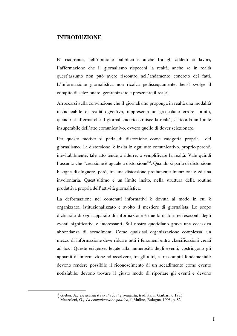 Giornalismo: evoluzione nelle pratiche di accesso alla professione - Tesi di Laurea
