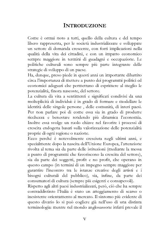 Il marketing delle Performing Arts. Il caso Romaeuropa Festival - Tesi di Laurea