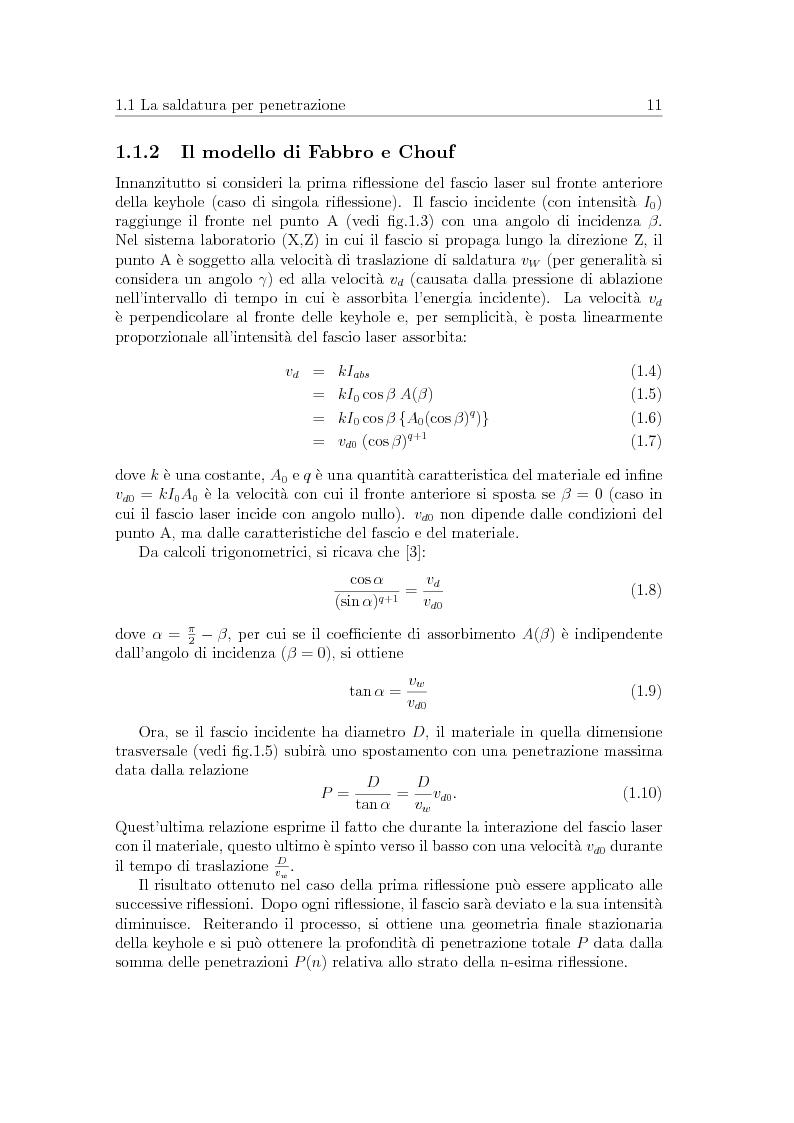 Anteprima della tesi: Sperimentazione comparata di sistemi di adduzione del gas per la saldatura laser della lega di alluminio AA5083, Pagina 8