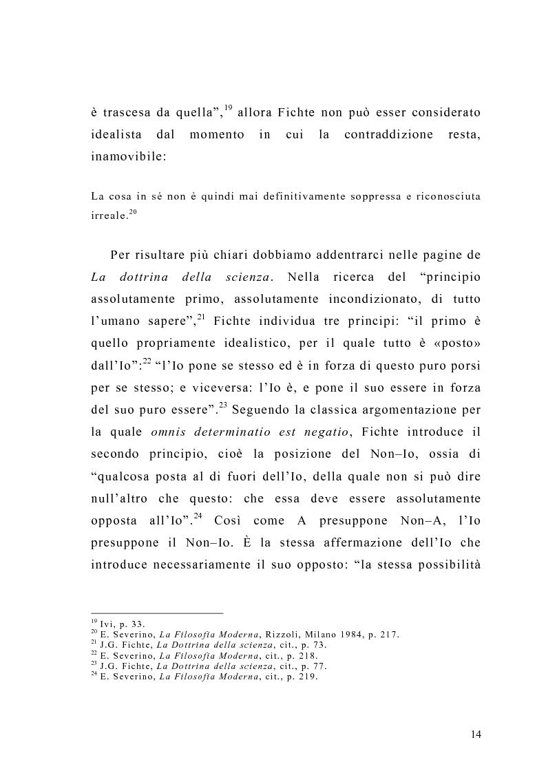 Anteprima della tesi: Coscienza e desiderio in Carlo Michelstaedter, Pagina 7