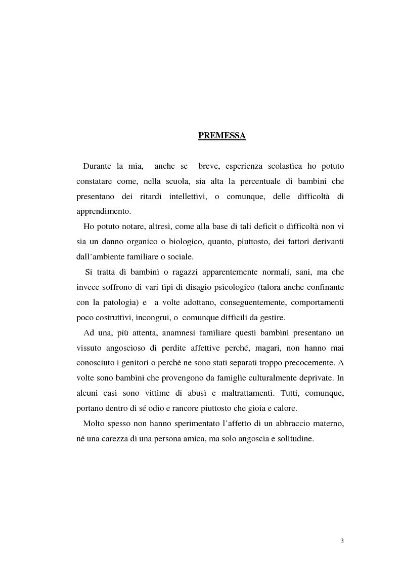 Anteprima della tesi: Lo sviluppo cognitivo nei suoi aspetti socio-relazionari, Pagina 1