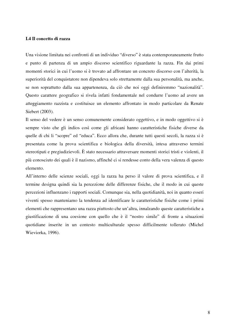 Anteprima della tesi: La figura dell'immigrato nella stampa inglese e tedesca. Riflessioni sul concetto di rappresentazione come pratica di costruzione sociale., Pagina 6