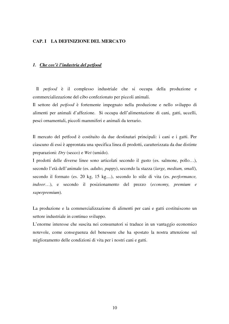 Anteprima della tesi: Il marketing strategico applicato al mercato italiano del pet food, Pagina 6