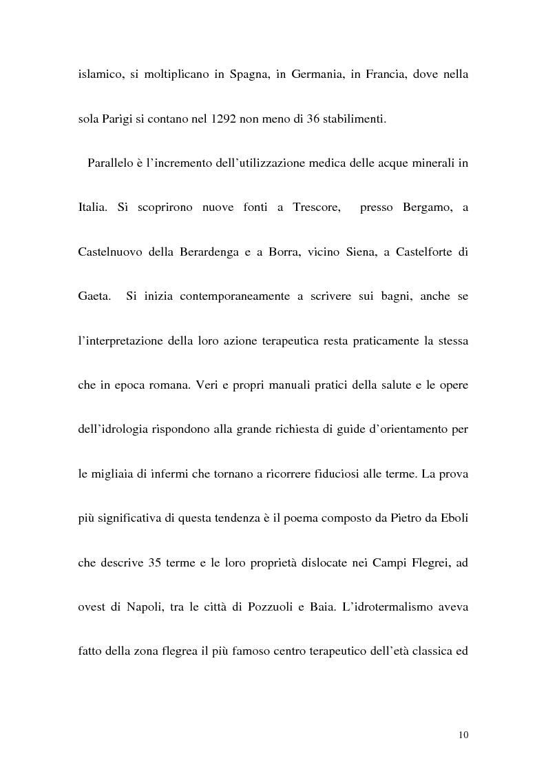 Anteprima della tesi: Itinerario termale da Pozzuoli a Napoli nel XIII secolo, Pagina 7