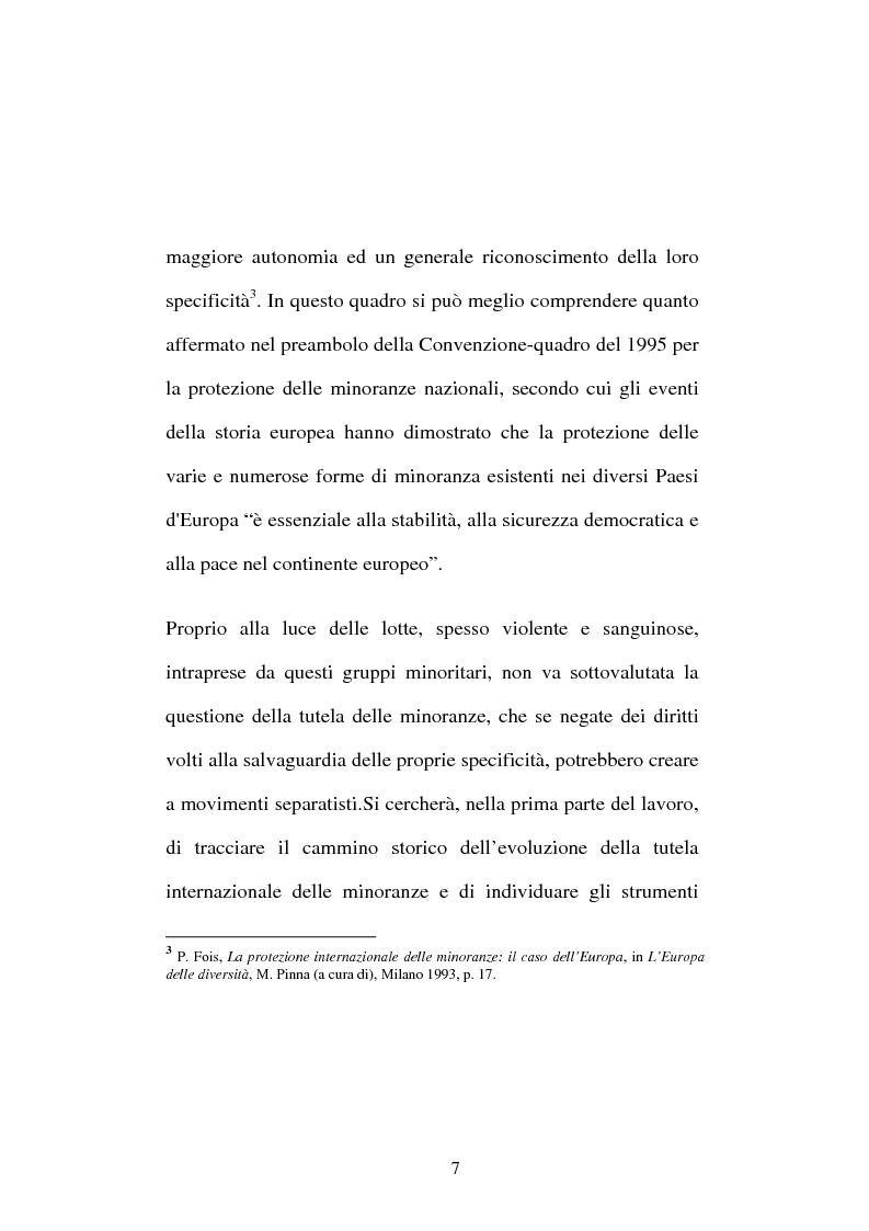Anteprima della tesi: Minoranze nazionali, Pagina 4