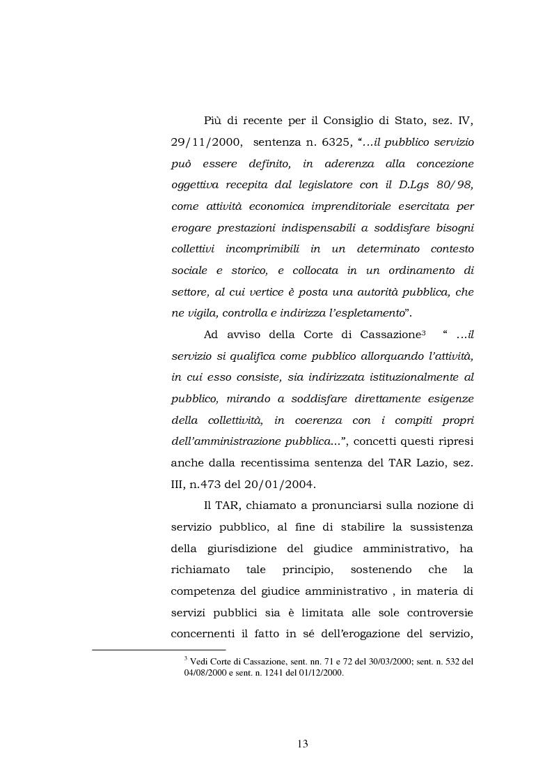 Anteprima della tesi: L'articolo 35, Legge 448/2001, Legge finanziaria 2002, in rapporto con la riforma del Titolo V della Costituzione e la normativa comunitaria, Pagina 13