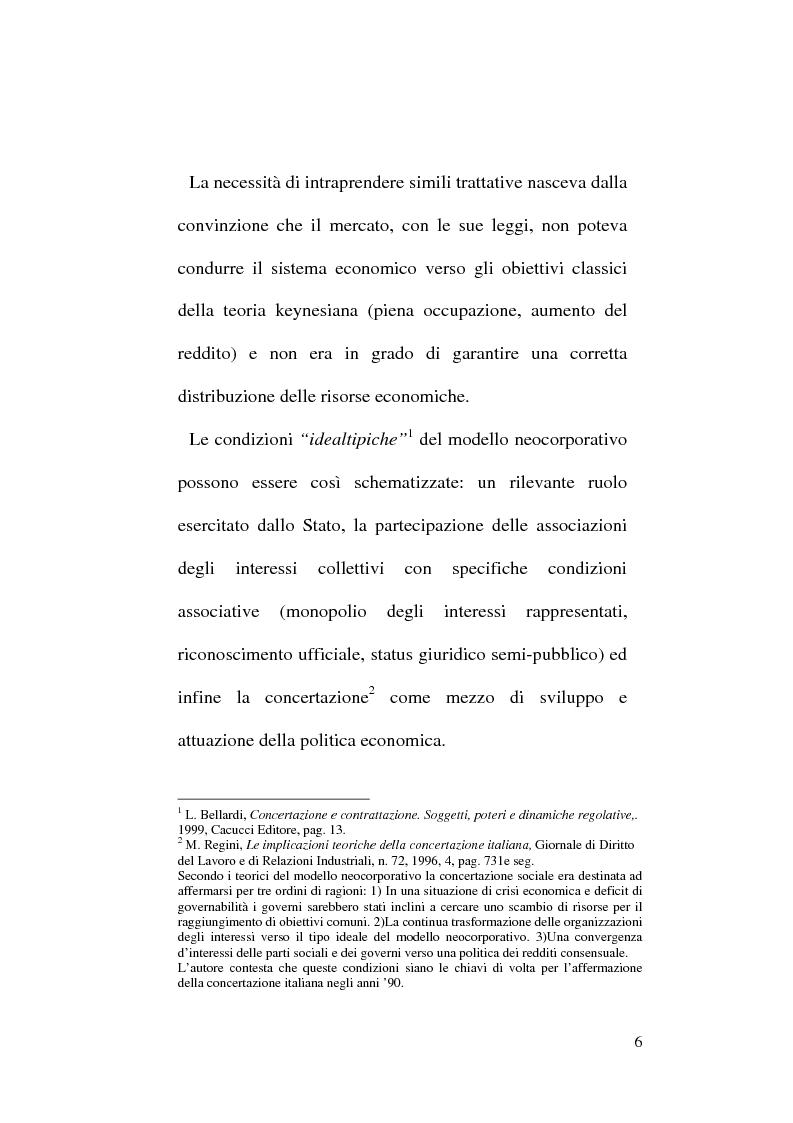 Anteprima della tesi: Gli enti Bilaterali nel mercato del lavoro. Il caso E.B.A.P., Pagina 2