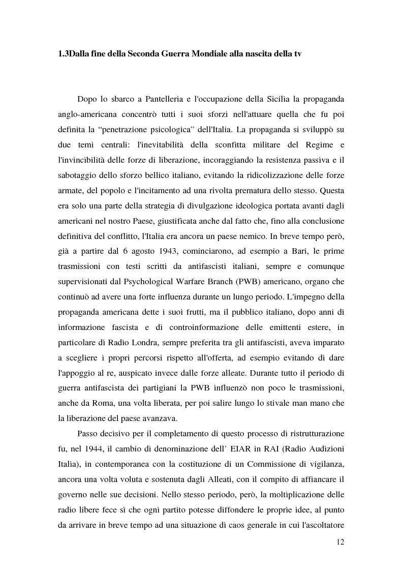 Anteprima della tesi: Un'esperienza radiofonica: un radiodramma per UNIRai, Pagina 12