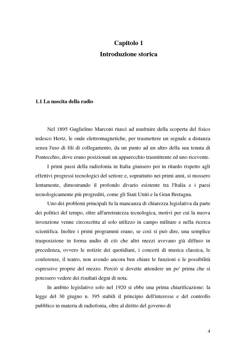 Anteprima della tesi: Un'esperienza radiofonica: un radiodramma per UNIRai, Pagina 4