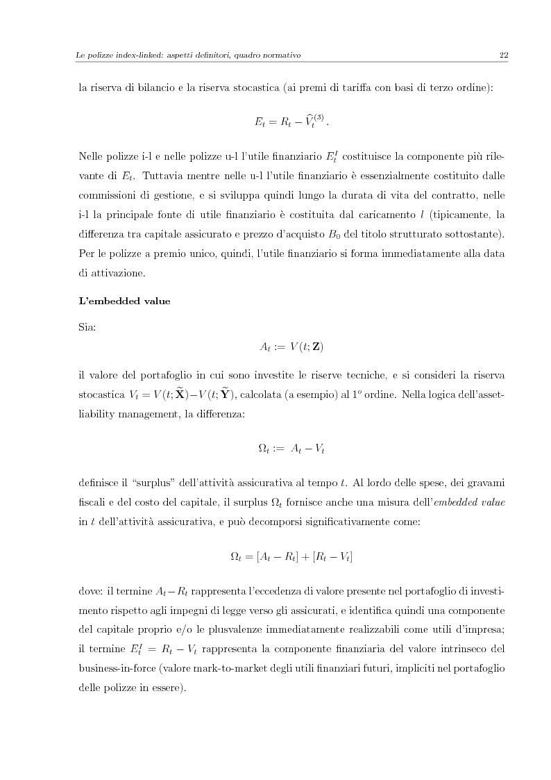 Anteprima della tesi: Valutazione e Controllo di Polizze Index-Linked, Pagina 2