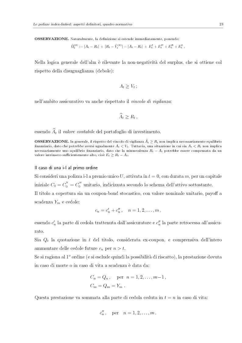 Anteprima della tesi: Valutazione e Controllo di Polizze Index-Linked, Pagina 3