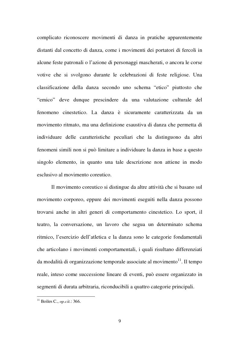 Anteprima della tesi: La tradizione coreutica in Aragona, Pagina 9