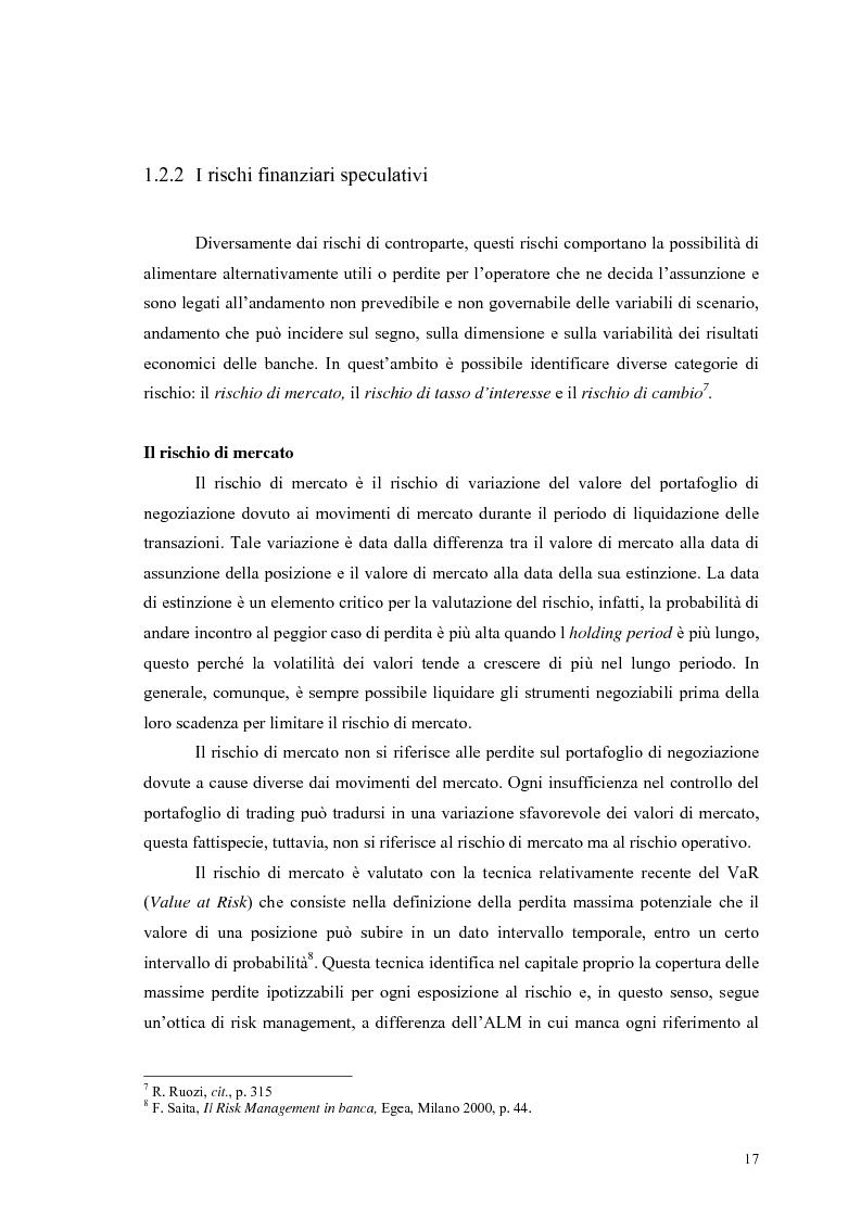 Anteprima della tesi: La gestione del rischio operativo in banca: le aree di business retail banking e commercial banking, Pagina 9