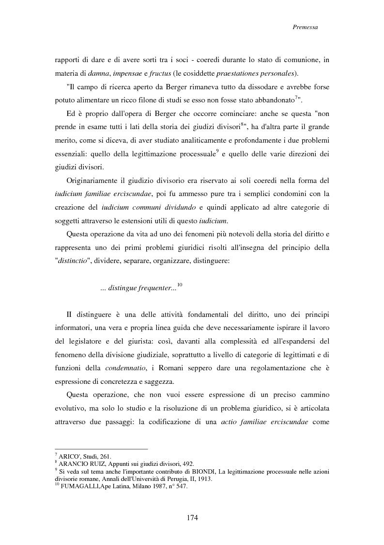 Anteprima della tesi: Actio familiae erciscundae Dig. 10.2, Pagina 2