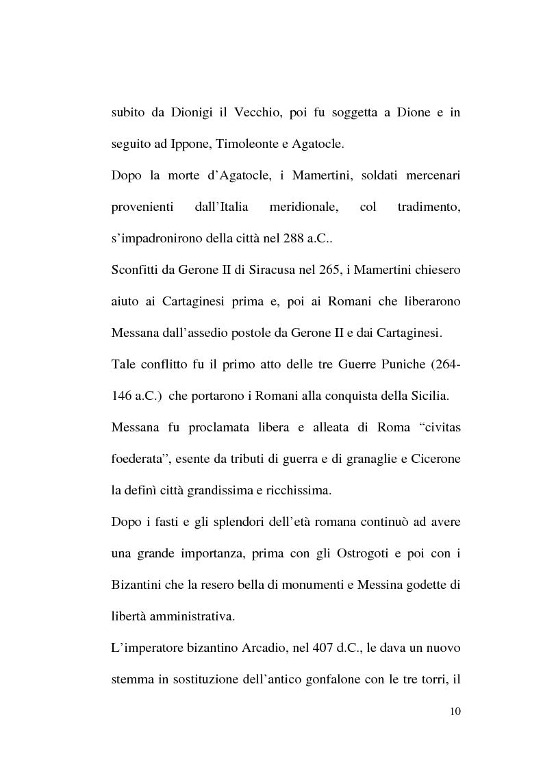 Anteprima della tesi: La popolazione della parrocchia di S. Matteo (Me) dal 1570 al 1613, Pagina 7