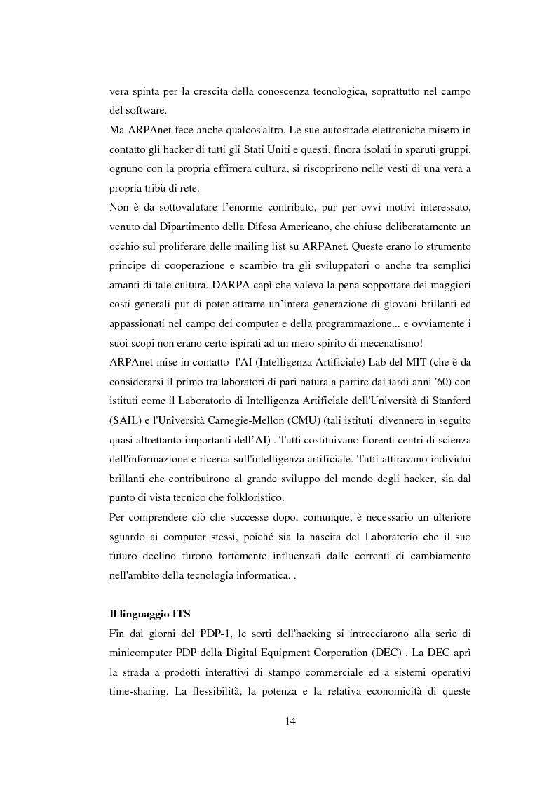 Anteprima della tesi: Open Source: un nuovo modello economico aziendale per l'industria dell'informatica, Pagina 14