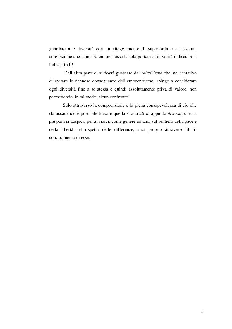 Anteprima della tesi: I diritti umani fra uguaglianza e differenza - Vivere la differenza nell'eguaglianza, Pagina 3